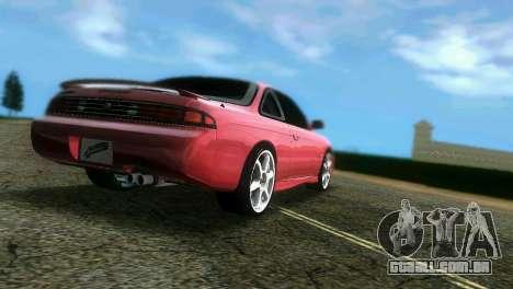 Nissan Silvia S14 Light Tuning para GTA Vice City deixou vista