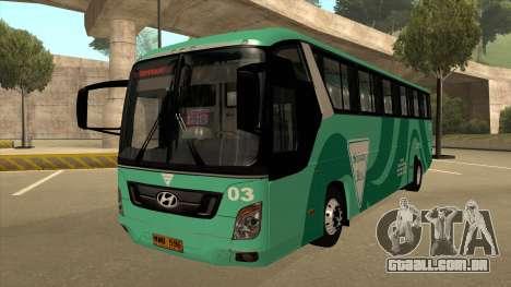 Holiday Bus 03 para GTA San Andreas