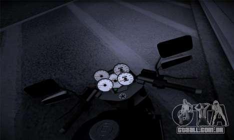 Ducati FCR900 2013 para GTA San Andreas vista traseira