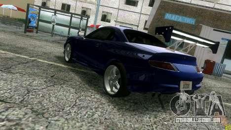 Mitsubishi FTO para GTA Vice City vista traseira esquerda