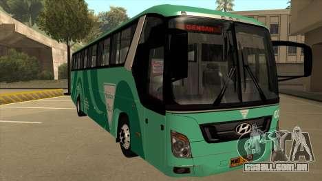 Holiday Bus 03 para GTA San Andreas esquerda vista