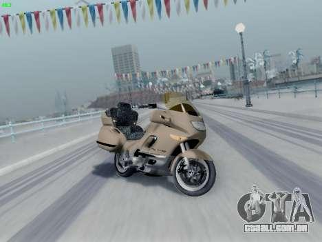 BMW K1200LT para GTA San Andreas