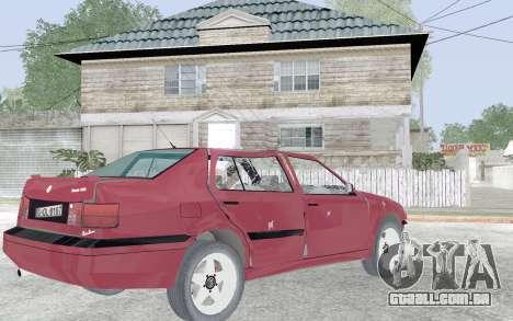 Volkswagen Vento para GTA San Andreas vista superior