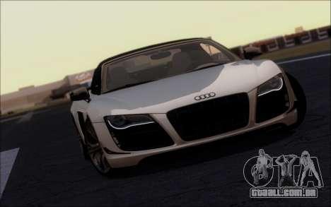 FF TG ICY ENB V2.0 para GTA San Andreas segunda tela