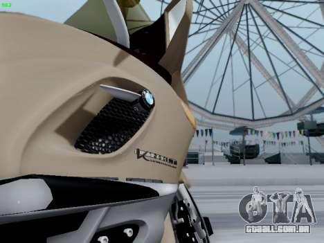 BMW K1200LT para GTA San Andreas traseira esquerda vista