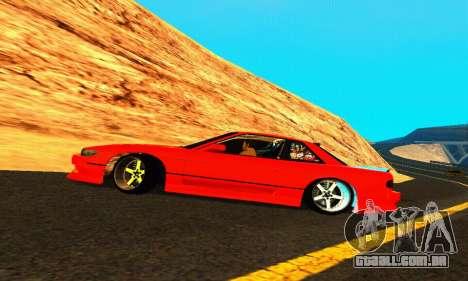 Nissan Silvia S13 HellaDrift para GTA San Andreas vista superior