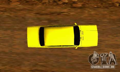 VAZ 2107 VIP para GTA San Andreas vista traseira