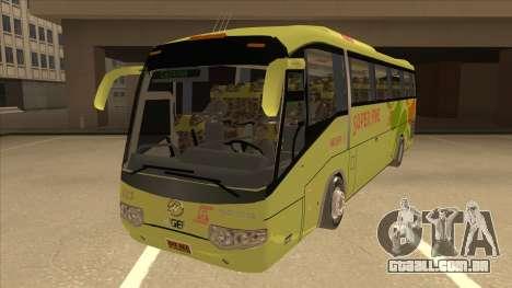 Higer KLQ6129QE - Super Five Transport S 023 para GTA San Andreas