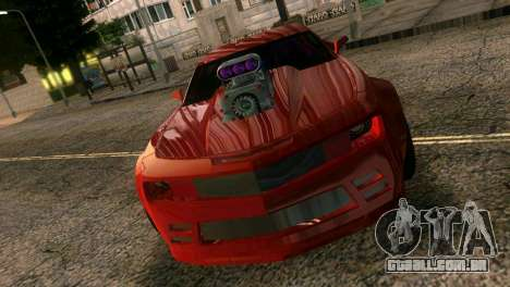 Chevrolet Camaro JR Tuning para GTA Vice City
