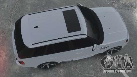 Range Rover Sport Autobiography 2013 Vossen para GTA 4 vista direita