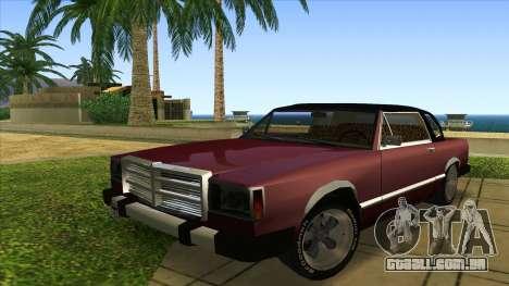Feltzer C107 coupe para GTA San Andreas esquerda vista