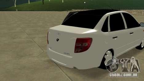 Lada Grant para GTA San Andreas traseira esquerda vista
