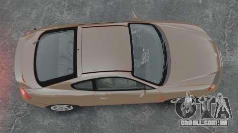 Hyundai Tiburon para GTA 4 vista direita
