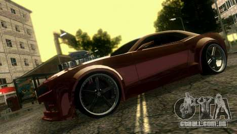 Chevrolet Camaro JR Tuning para GTA Vice City vista direita