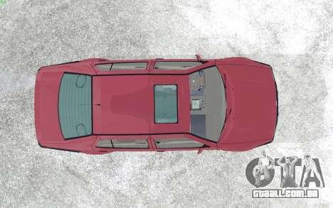 Volkswagen Vento para GTA San Andreas vista traseira