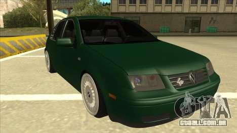 VW Bora para GTA San Andreas esquerda vista