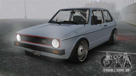 Volkswagen Golf MK1 GTI Update v1 para GTA 4