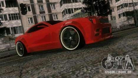 Chevrolet Camaro JR Tuning para GTA Vice City vista lateral