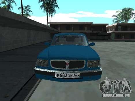 310221 GÁS para GTA San Andreas esquerda vista
