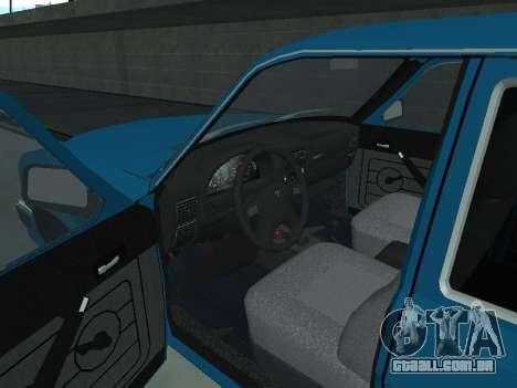 310221 GÁS para GTA San Andreas vista traseira