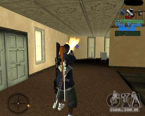 C-Hud for SA:MP para GTA San Andreas