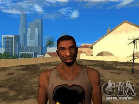 A nova cara do CJ para GTA San Andreas
