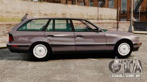 BMW 535 E34 Touring para GTA 4 esquerda vista