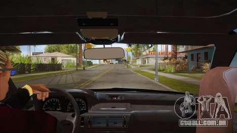 O script CLEO: vista do táxi sem o NumPad para GTA San Andreas segunda tela