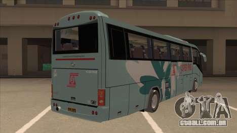 Higer KLQ6129QE - Super Fice Transport S 020 para GTA San Andreas vista direita