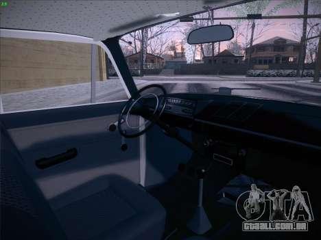 IZH 21251 para vista lateral GTA San Andreas