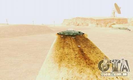 UFO Crash Site para GTA San Andreas segunda tela