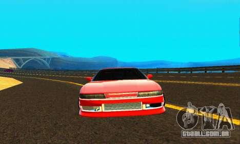 Nissan Silvia S13 HellaDrift para vista lateral GTA San Andreas