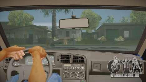 Volkswagen Passat B3 IVLM para GTA San Andreas vista interior
