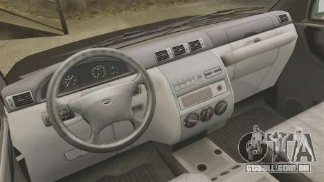 Captador UAZ Patriot para GTA 4 vista de volta