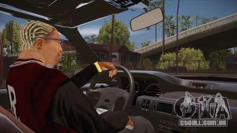 O script CLEO: vista do táxi sem o NumPad para GTA San Andreas terceira tela