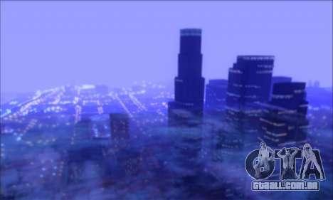 FF TG ICY ENB V1.0 para GTA San Andreas segunda tela