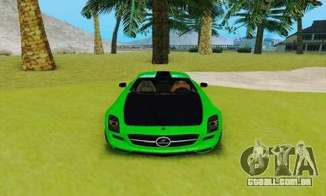 Mercedes SLS AMG 2010 Hamann v2.0 para GTA San Andreas vista interior