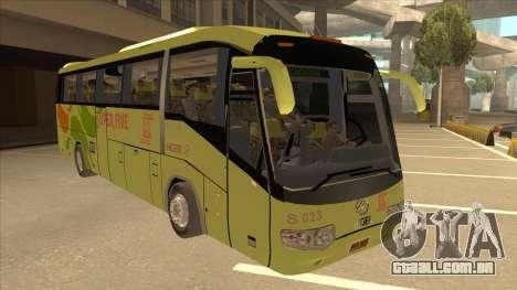 Higer KLQ6129QE - Super Five Transport S 023 para GTA San Andreas esquerda vista