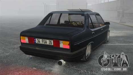 Fiat 131 para GTA 4 traseira esquerda vista