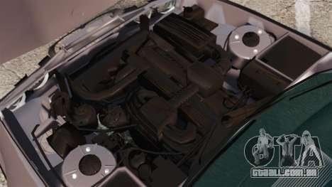 BMW 535 E34 Touring para GTA 4 vista interior