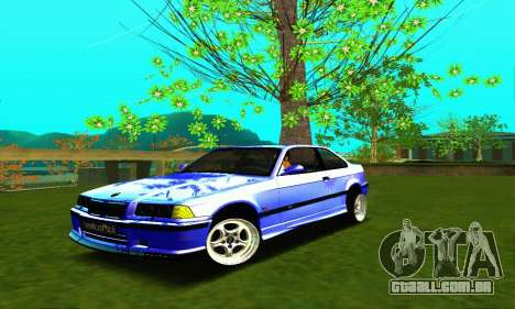 BMW E36 Low and Slow para GTA San Andreas