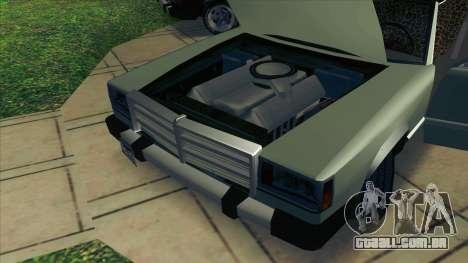 Feltzer C107 coupe para GTA San Andreas vista traseira