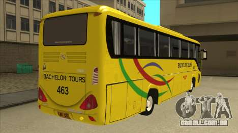 Kinglong XMQ6126Y - Bachelor Tours 463 para GTA San Andreas vista direita