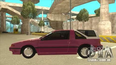 Nissan EXA L.A. Version para o motor de GTA San Andreas
