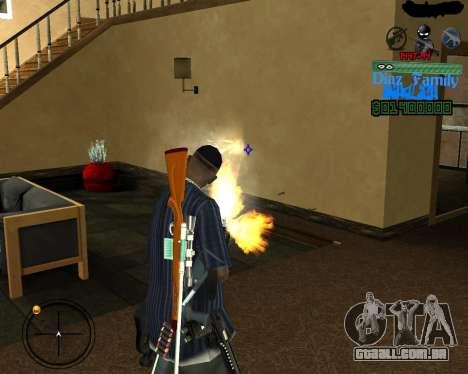 C-Hud for SA:MP para GTA San Andreas terceira tela