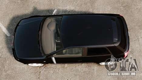 Audi S3 2001 para GTA 4 vista direita