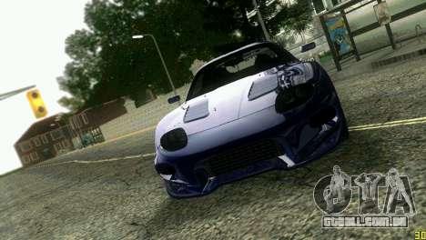 Mitsubishi FTO para GTA Vice City vista lateral