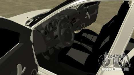 Lada Grant para GTA San Andreas vista interior