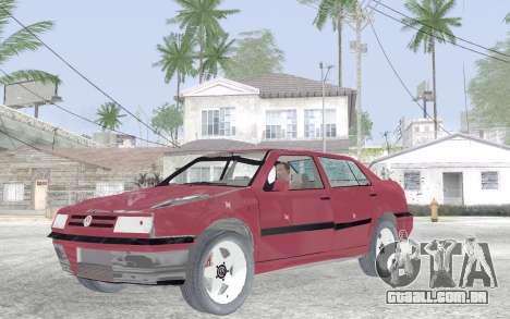 Volkswagen Vento para GTA San Andreas vista interior