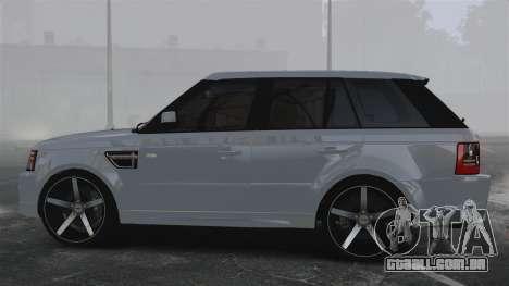 Range Rover Sport Autobiography 2013 Vossen para GTA 4 esquerda vista